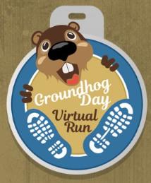 Ground Hog Day Race Medal