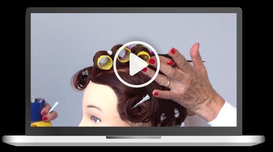 corso online di sistema della piega hair academy