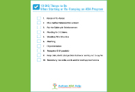 10 Bog Thing To Do When Starting or Revamping an ABA Program