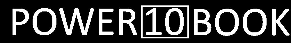 Power 10 Book Logo