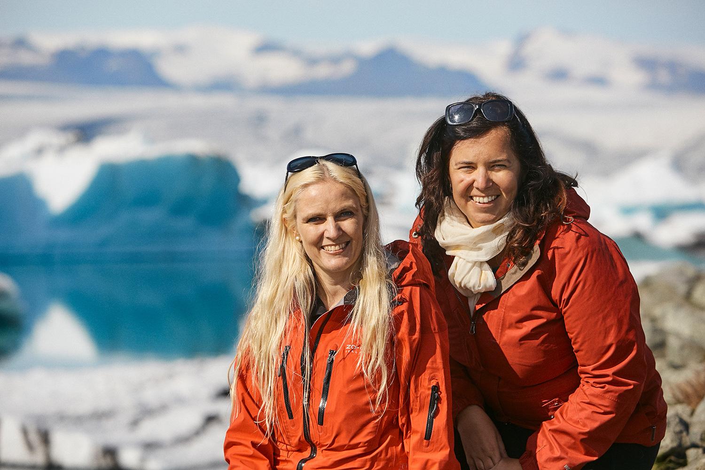 Mastermind Retreat Iceland - Sigrun and Maria