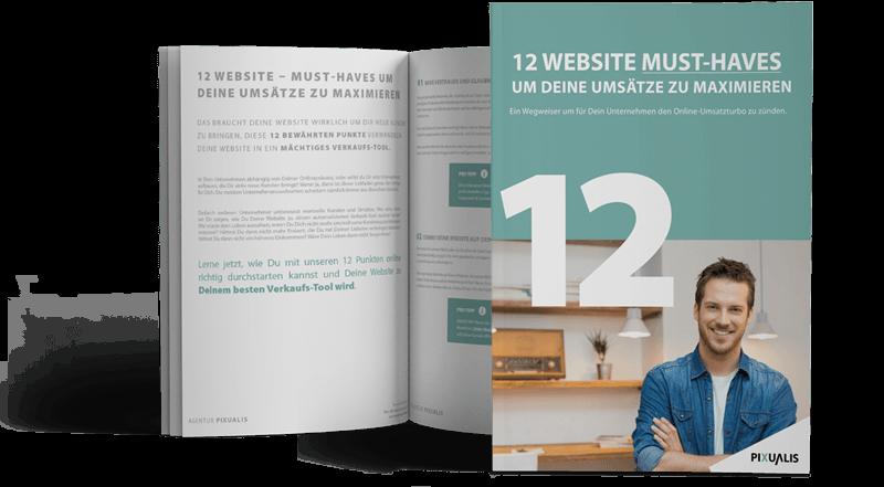 12 Must Haves um online Deine Umsätze zu maximieren - E-Book