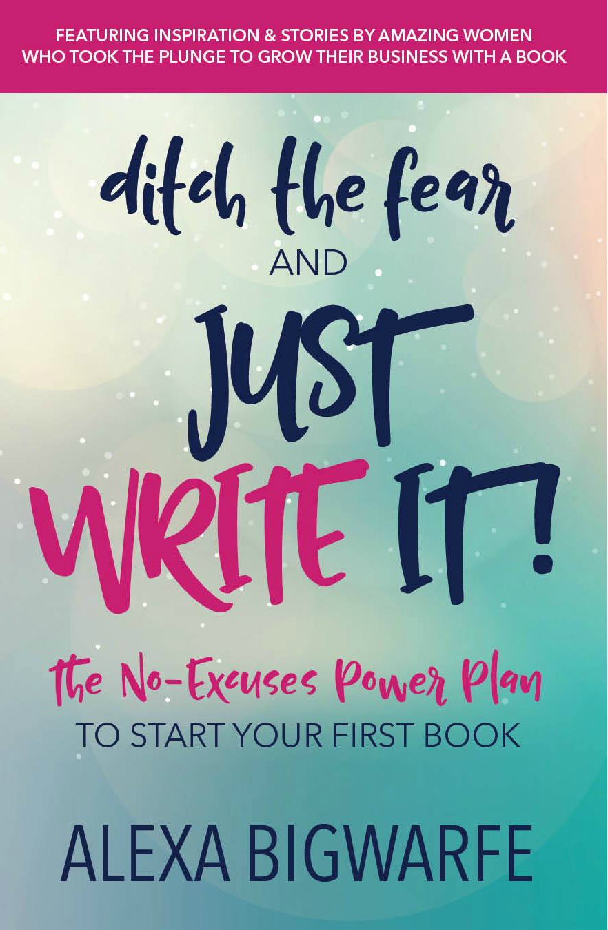get started writing a book