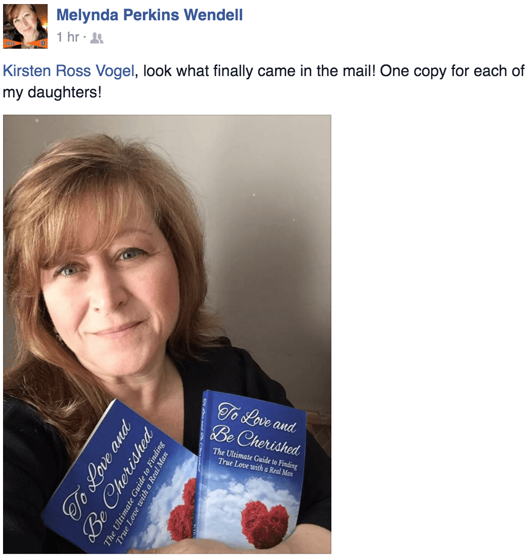 To Love and Be Cherished Book Testimonial Stephanie Rowe Romagnoli