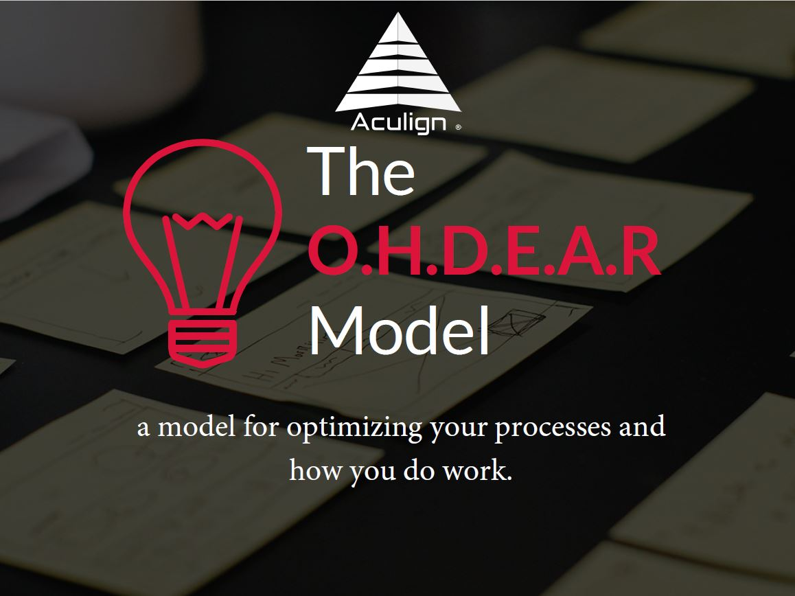 Aculign Process Optimization Model