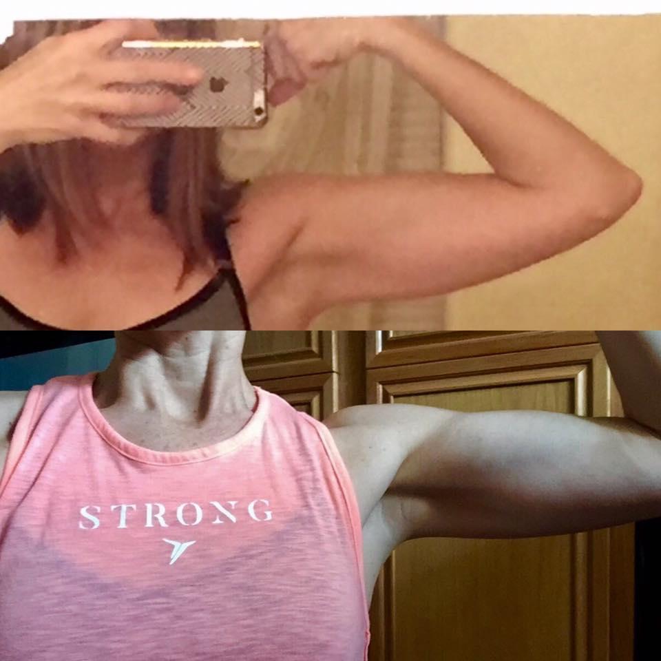 8 week body building results