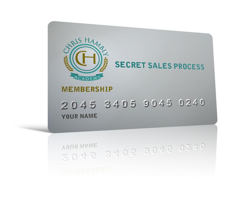 Secret Sales Process