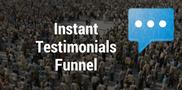 Instant Testimonial Funnel | Free B2B Sales Funnels