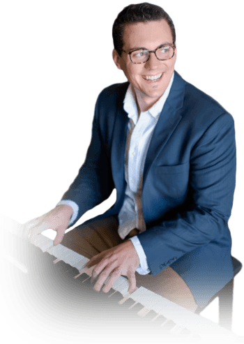 Jacques Hopkins helps regular people learn to play their favorite songs with the fastest online piano course at Piano In 21 Days
