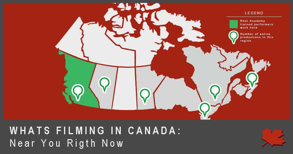 What's Filming in Canada