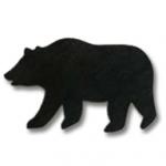 Grizzly Bear Applique