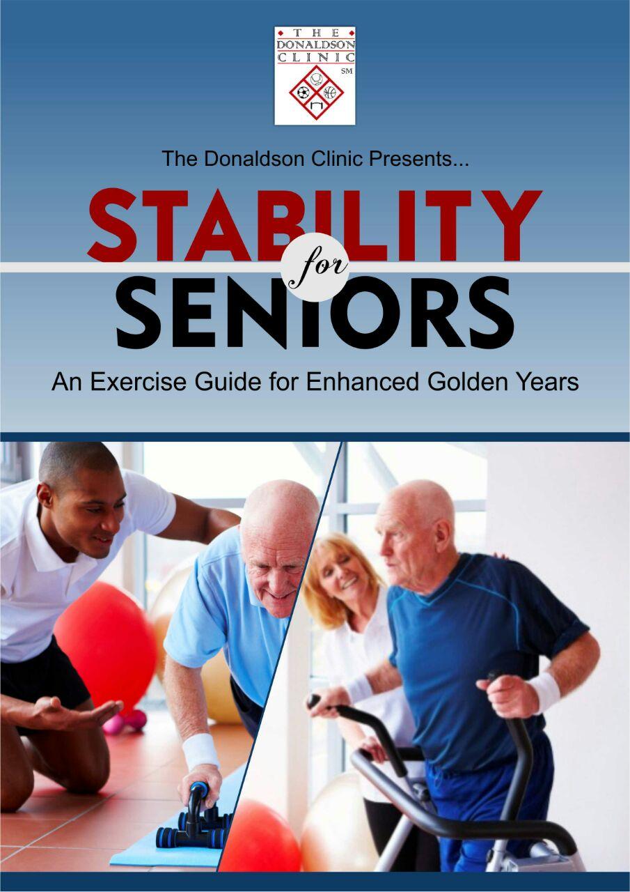 Stability for Seniors Exercise Guide