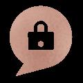 Private online sanctuary