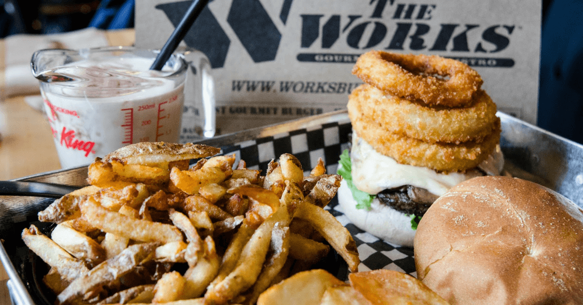 The Works Gourmet Burgers on Niagara Offers