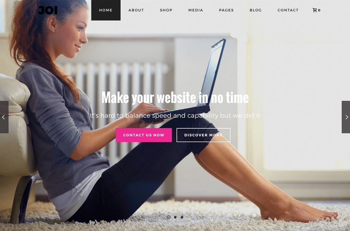 Wordpress Theme Joi