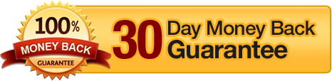 100 % Money Back Guarantee