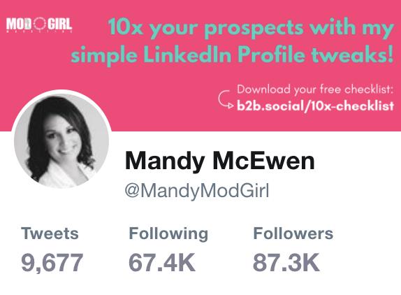Mandy McEwen Twitter