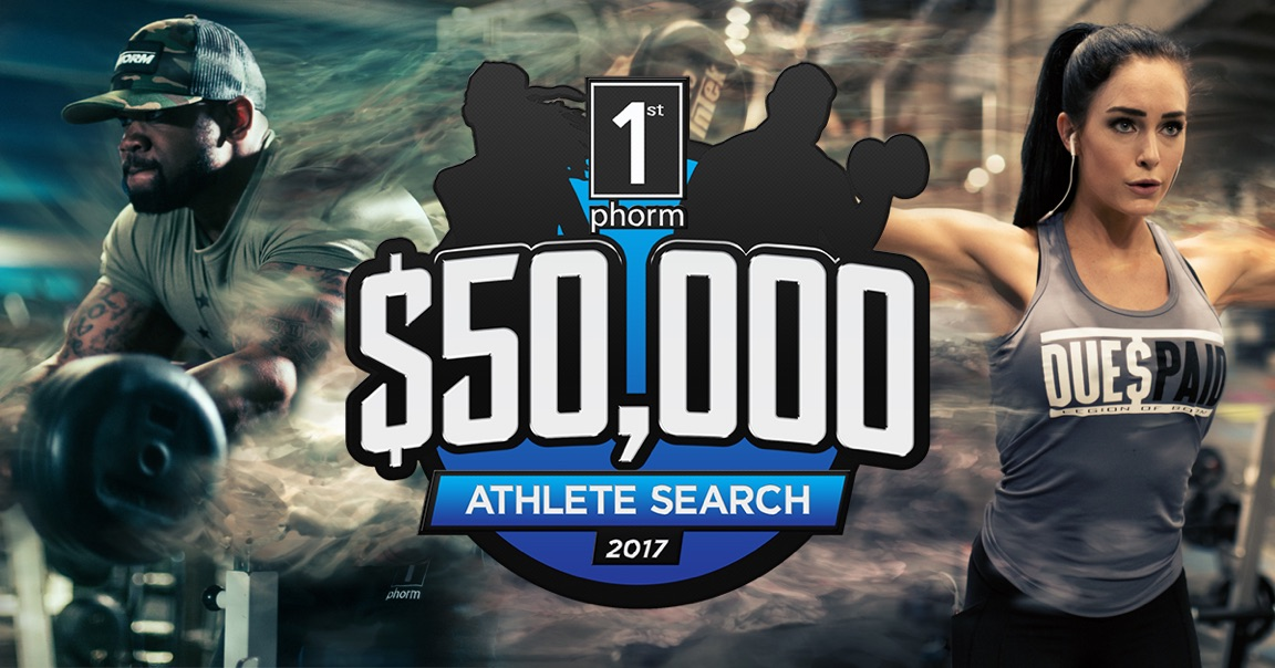 Become a Sponsored Athlete — 1st Phorm Athlete Search
