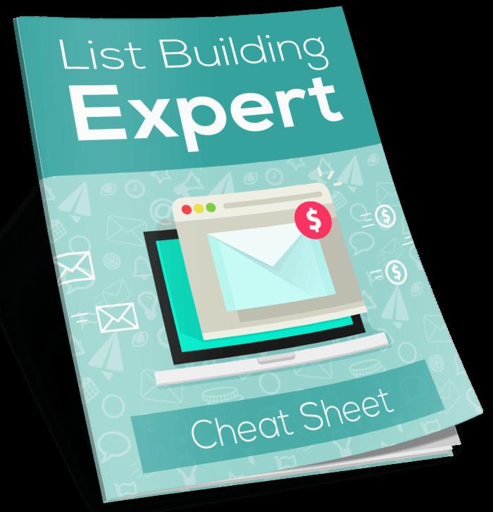 FREE List Building Expert Cheat Sheet