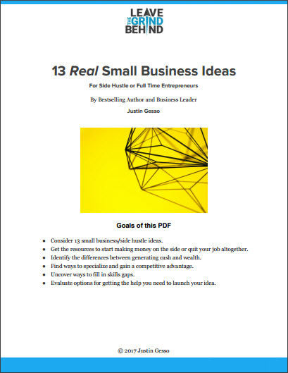 13 Real Small Business Ideas PDF