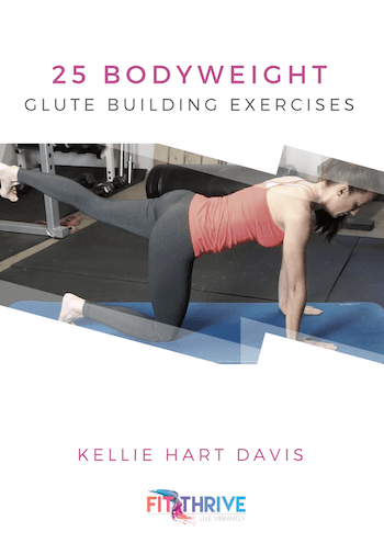 bodyweight glute building exercises