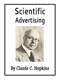 Free copy of Claude Hopkins Scientific Advertising - Audiobook and Ebook