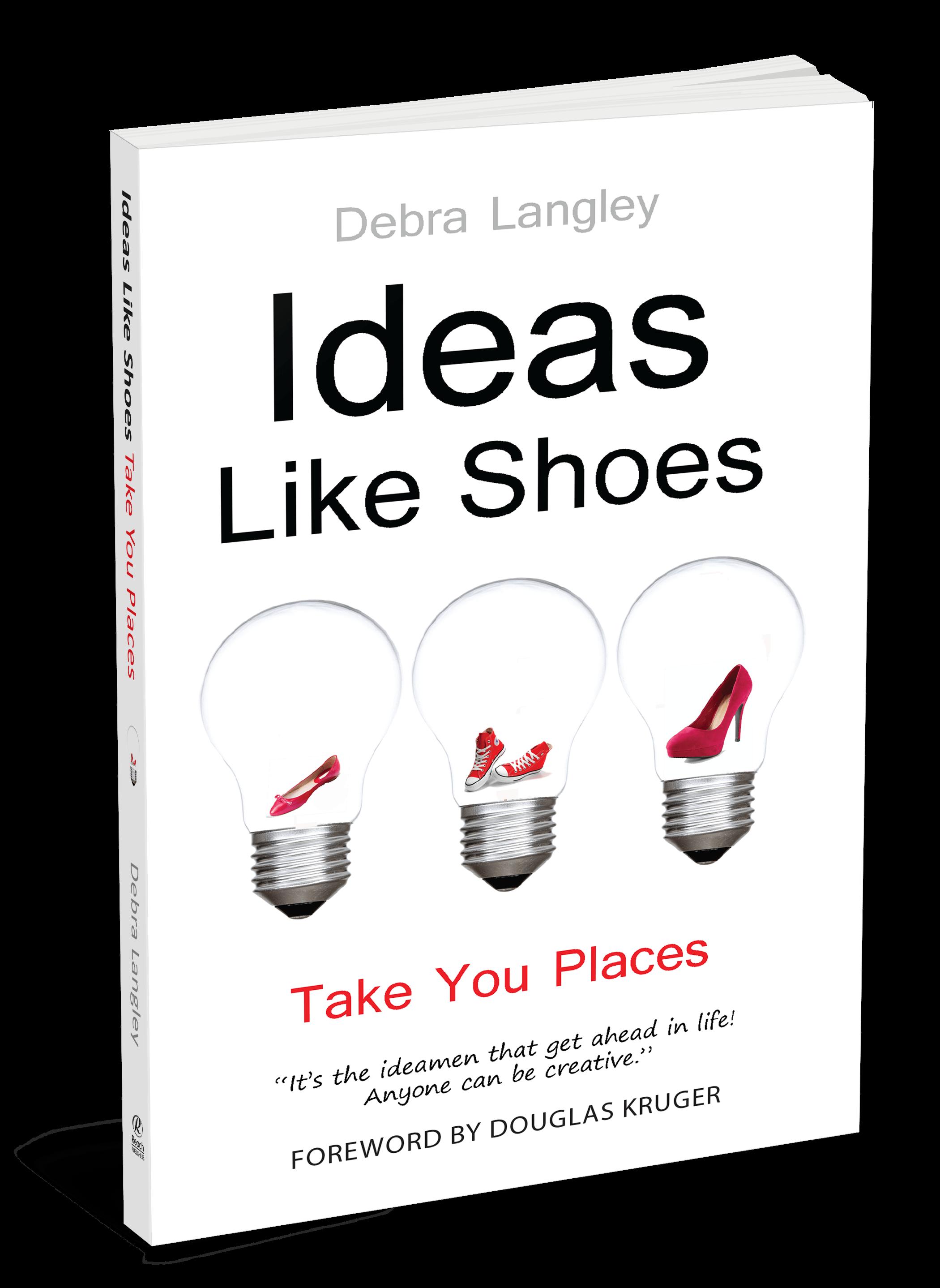 Ideas Like Shoes Take You Places