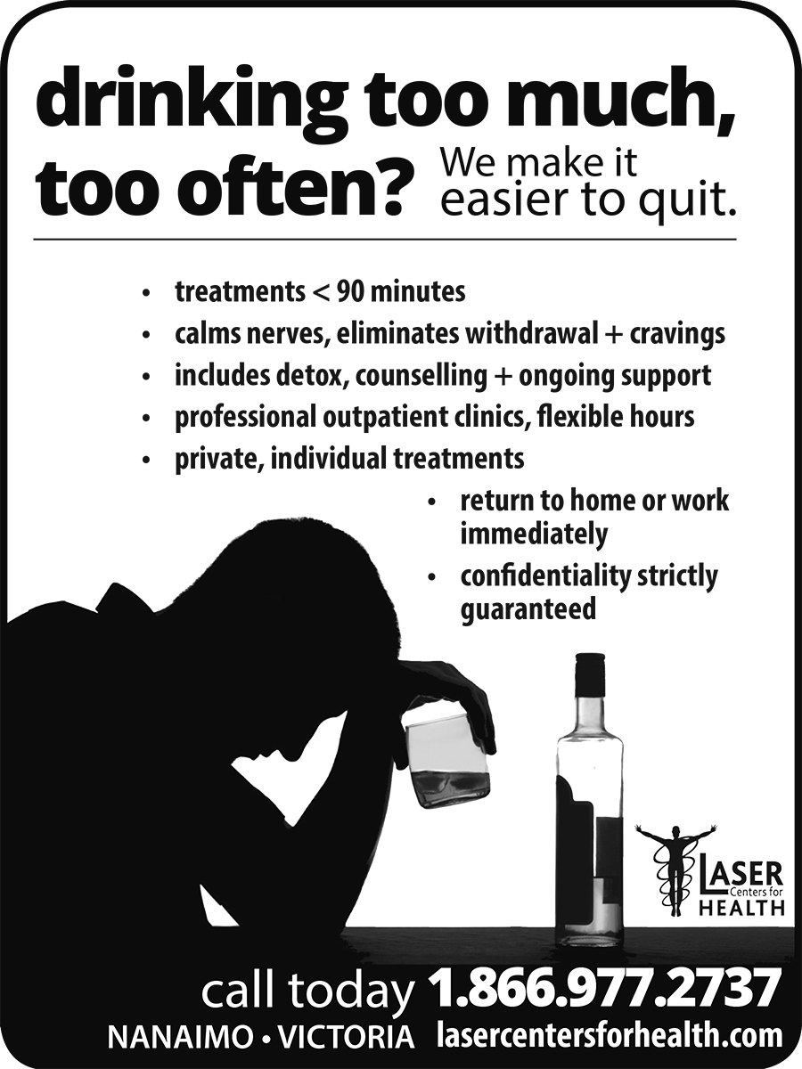 Laser Centers for Health ad in Coffee News