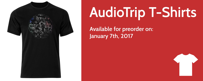 audiotrip 2 t-shirts independent artist merchandise sales