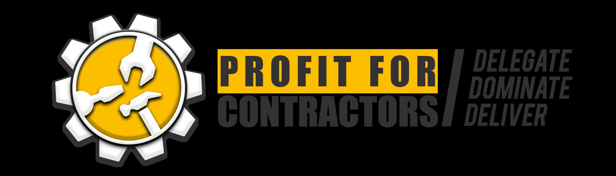 Profit For Contratcors