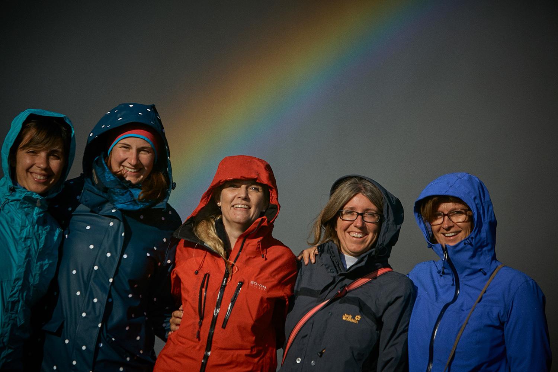 Mastermind Retreat Iceland - Rainbow