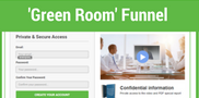 Green Room Funnel | Free B2B Sales Funnels