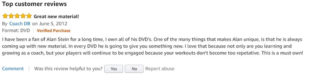 Alan Stein Training Reviews