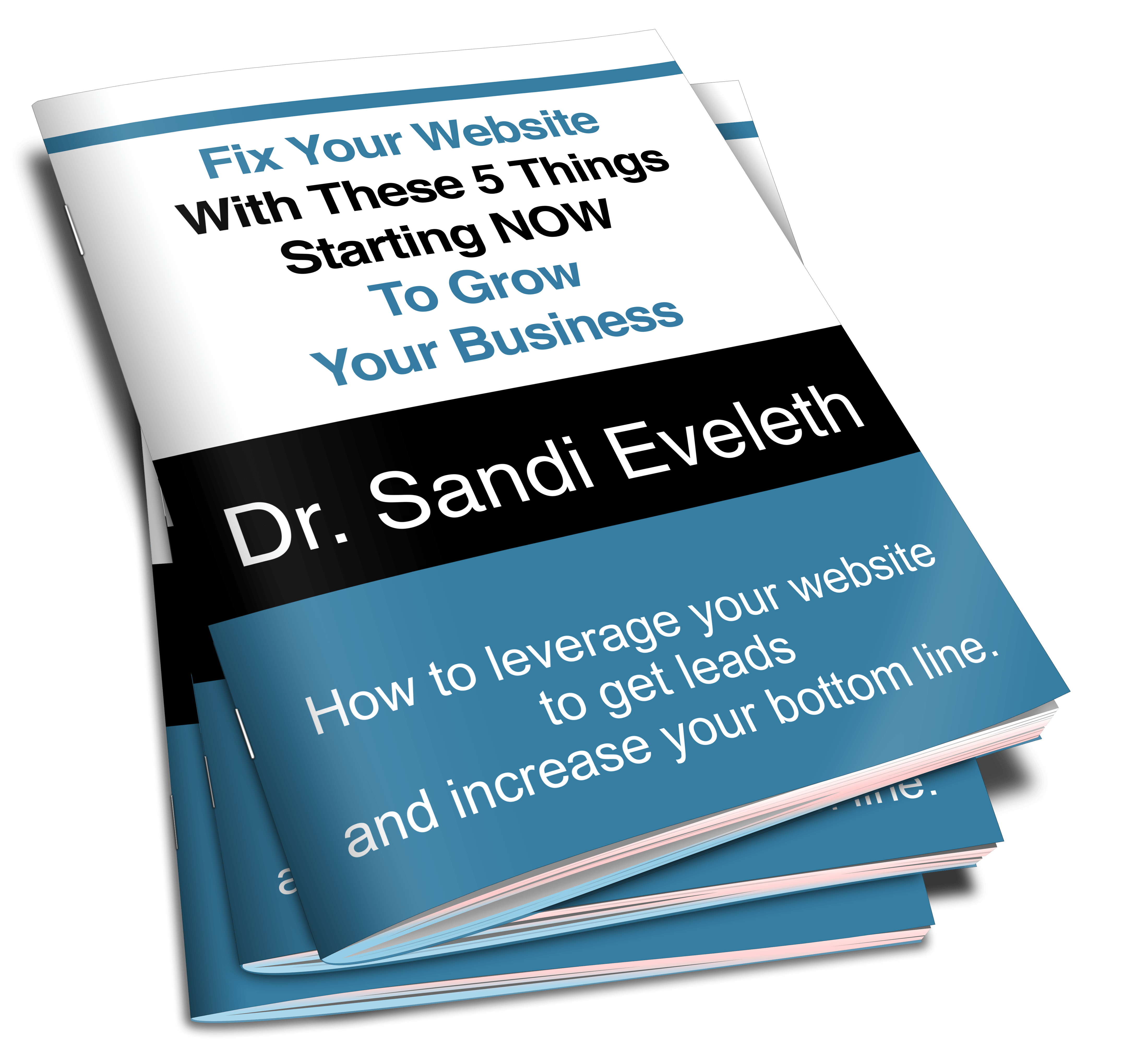 FREE eBook - Fix Your Website with These 5 Things Starting NOW to Grow Your Business